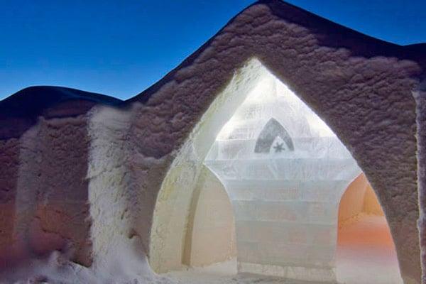 SnowHotel in Rovaniemi, Lapland