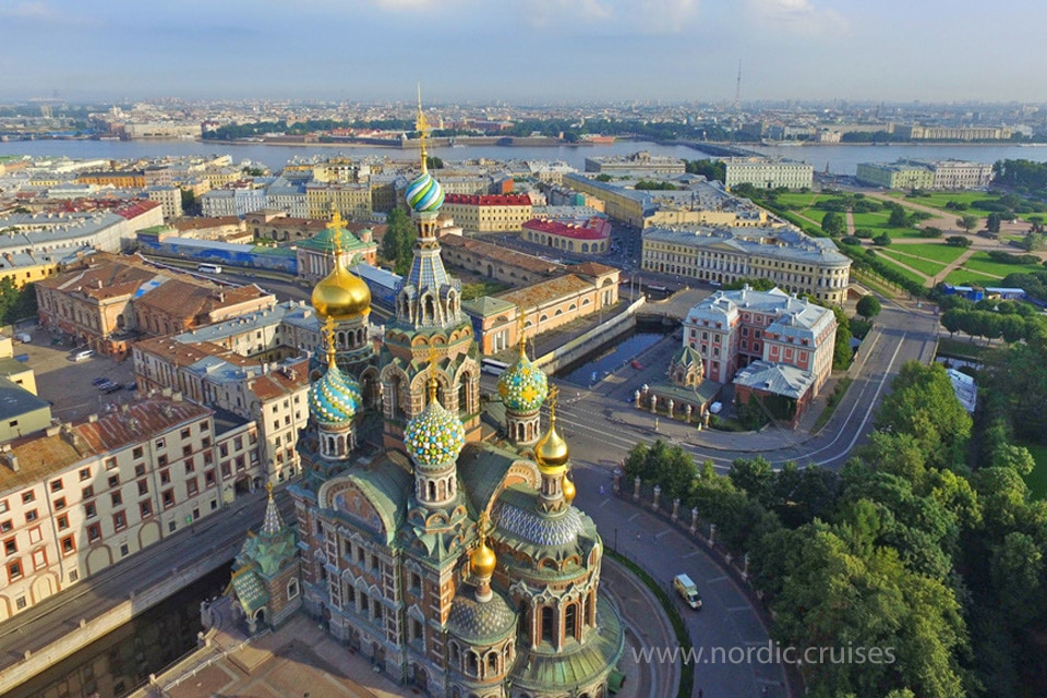 St Petersburg, the Church of Our Savior on Spilled Blood