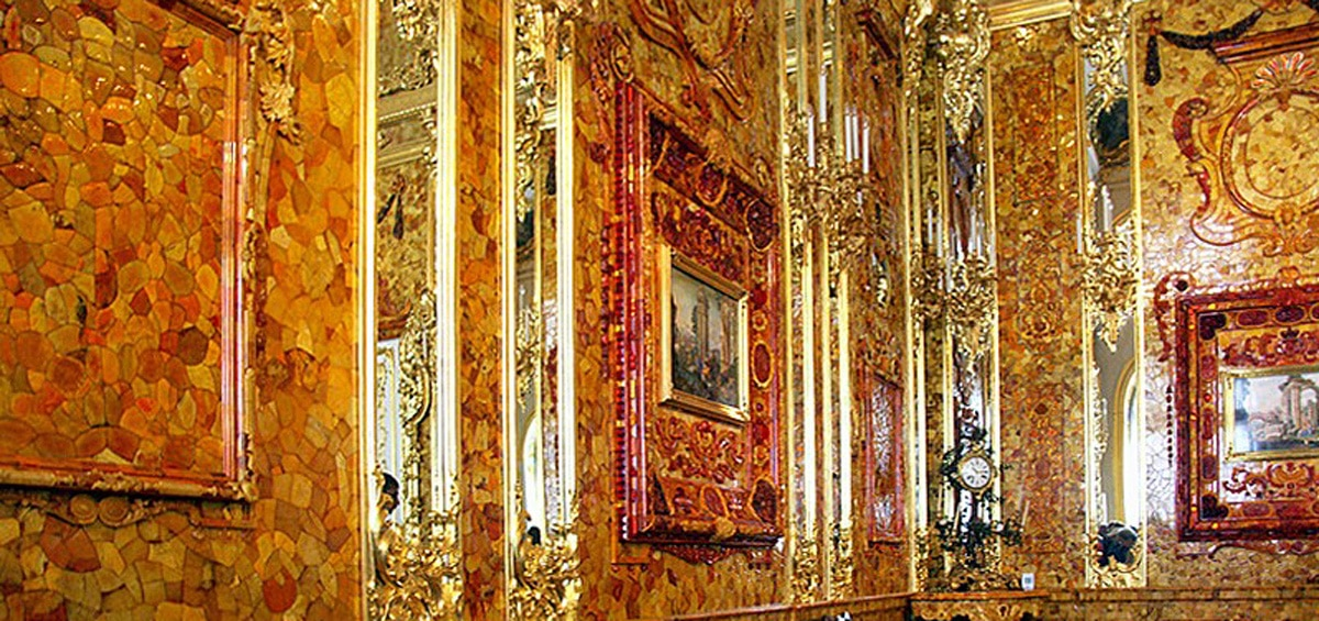 Catherine Palace, Amber Room