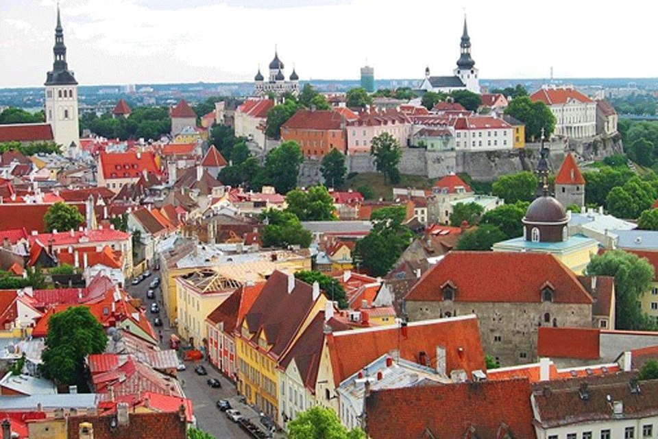 Red Roofed Tallinn