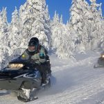 Driving Snowmobile, Trips to Lapland