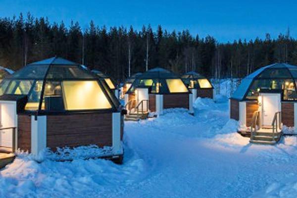 Glass Igloos Rovaniemi, Lapland