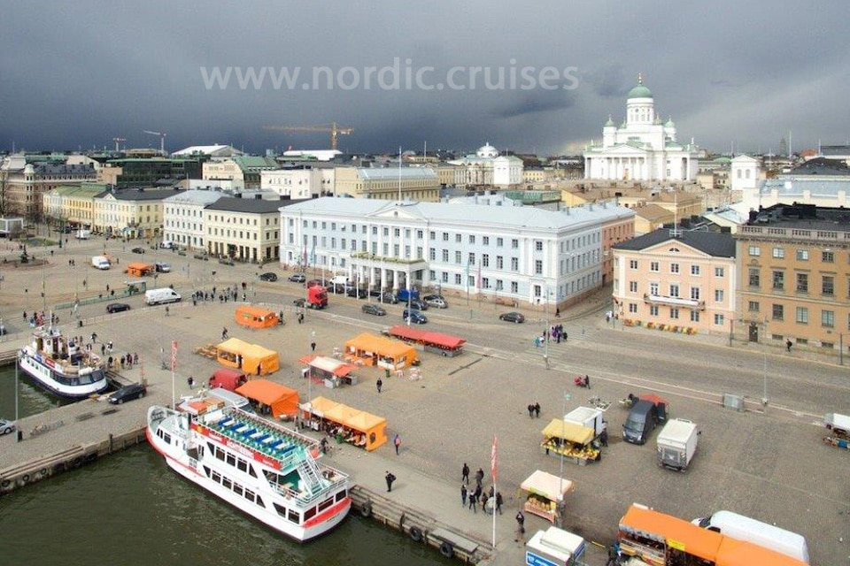 Visit Helsinki with Nordic Cruises