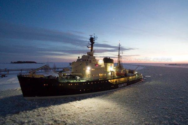 Icebreaker Sampo, Finnish Lapland