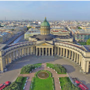 Kazan Cathedral in St. Petersburg (Our Lady of Kazan)