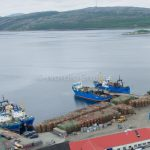 Port of Kirkenes and Crabs