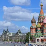 Saint Basil's Cathedral and GUM, Moscow