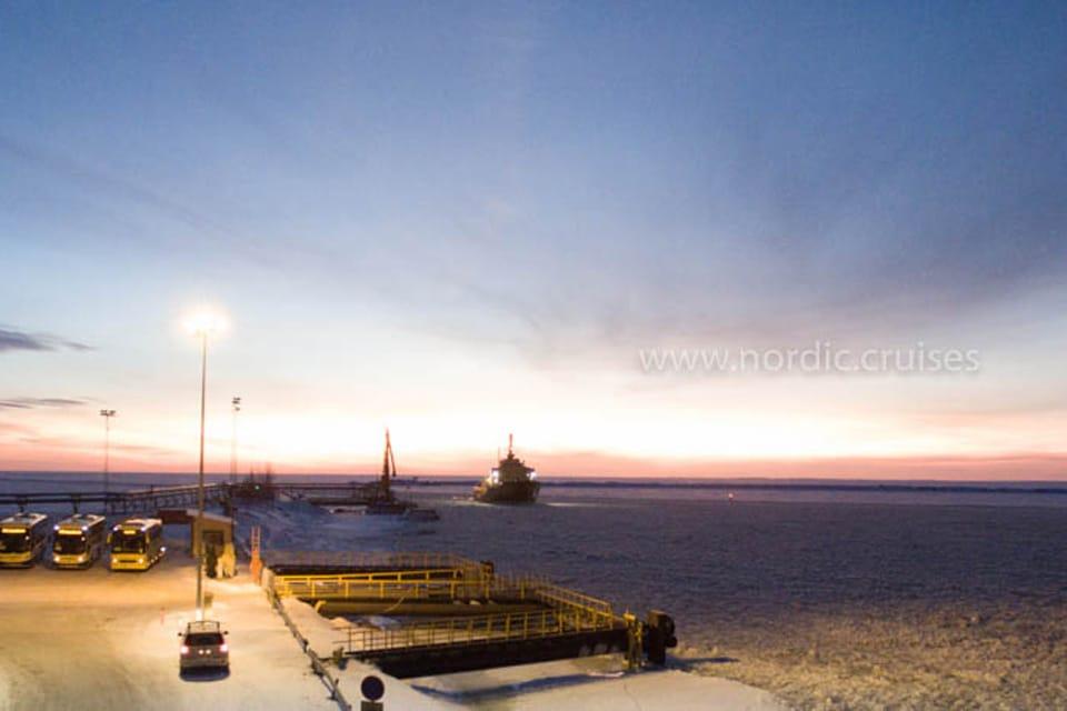 Icebreaker Sampo in Kemi Port