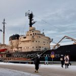 Icebreaker Sampo in Kemi Port