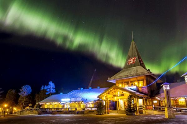 Santa Claus Village in Finnish Lapland