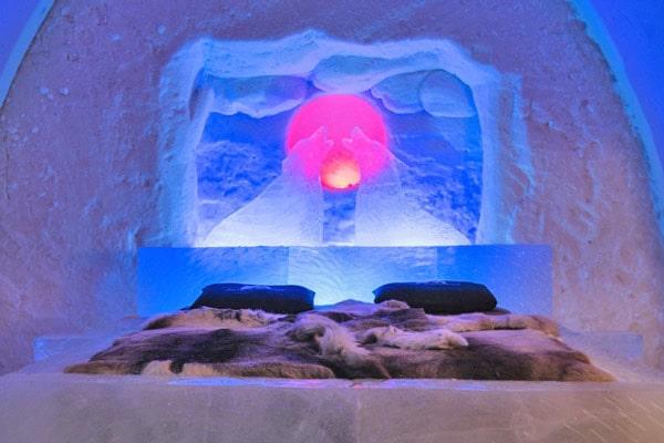 SnowHotel in Rovaniemi, Finland