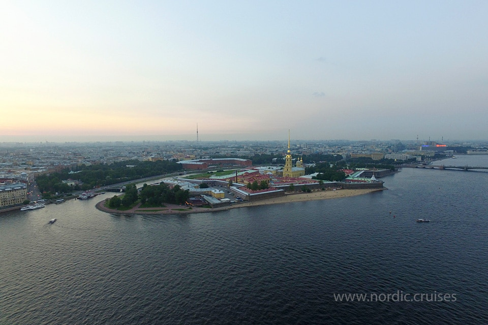 Cruise from Helsinki to St. Petersburg
