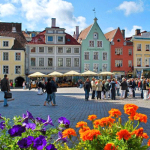 Square in Tallinn, Estonia