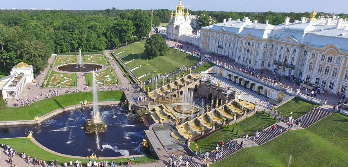 Peterhof Cascade, St. Petersburg