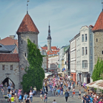 Old Tallinn, Estonia