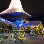 Christmas House, the Main Building Santa Claus Village