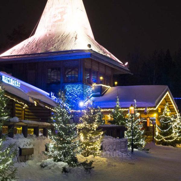 Christmas House, the Main Building Santa Claus Village