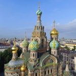 The Church of the Saviour on the Spilled Blood in St Petersburg