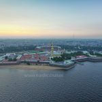 The Peter and Paul Fortress in St. Petersburg, Russia Visa Free