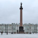 The Alexander Column, St. Petersburg