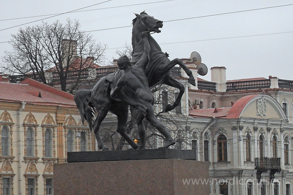 The Horse Tamers, St. Petersburg
