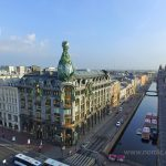 Singer Building in Nevsky Prospect, St. Petersburg