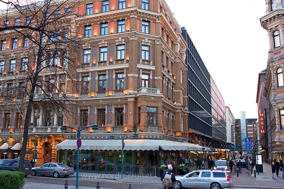 Street of Helsinki, Finland