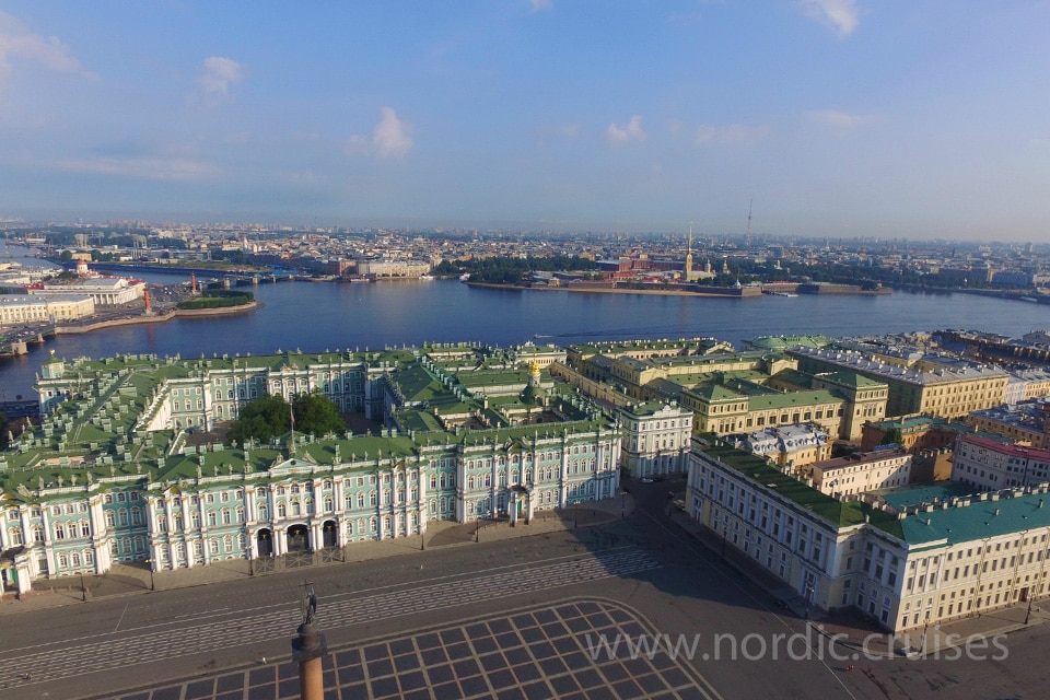 The State Hermitage Museum, travel to St. Petersburg