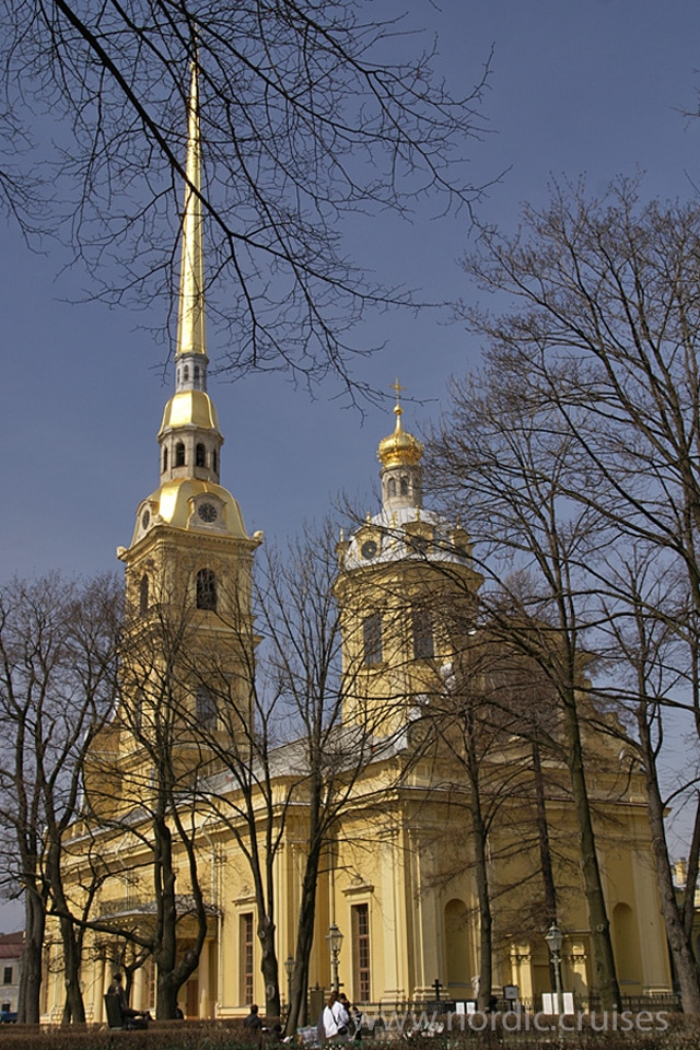 The Peter and Paul Cathedral, St. Petersburg