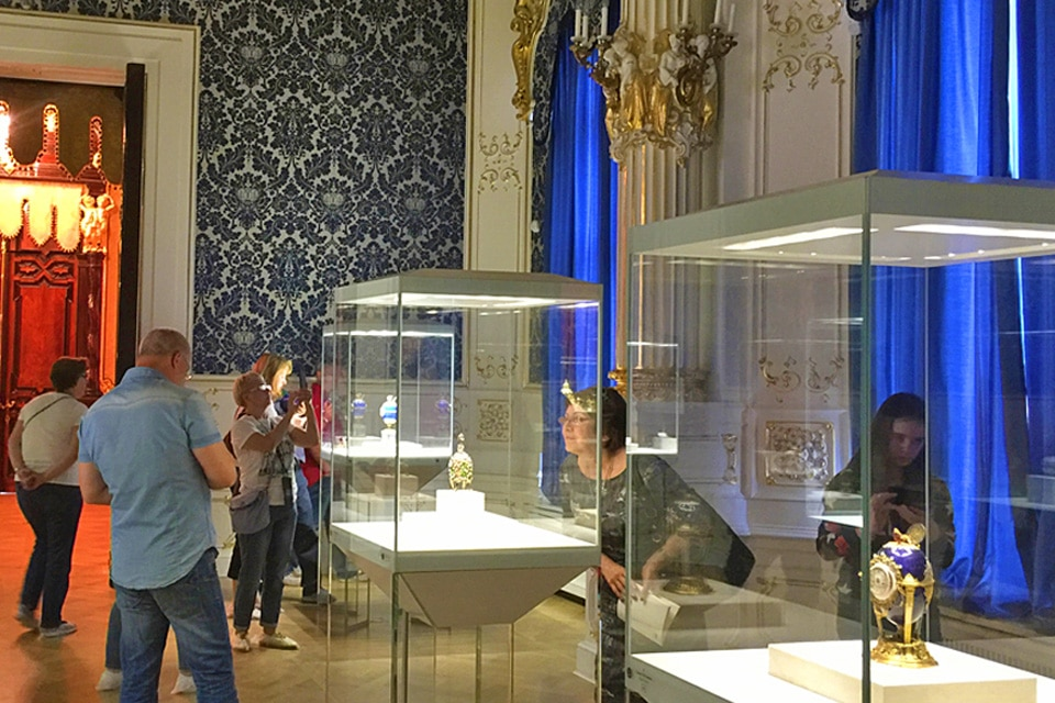 The Faberge Museum in St. Petersburg