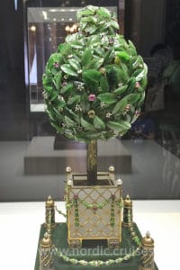 Bay Tree Egg, Faberge Museum