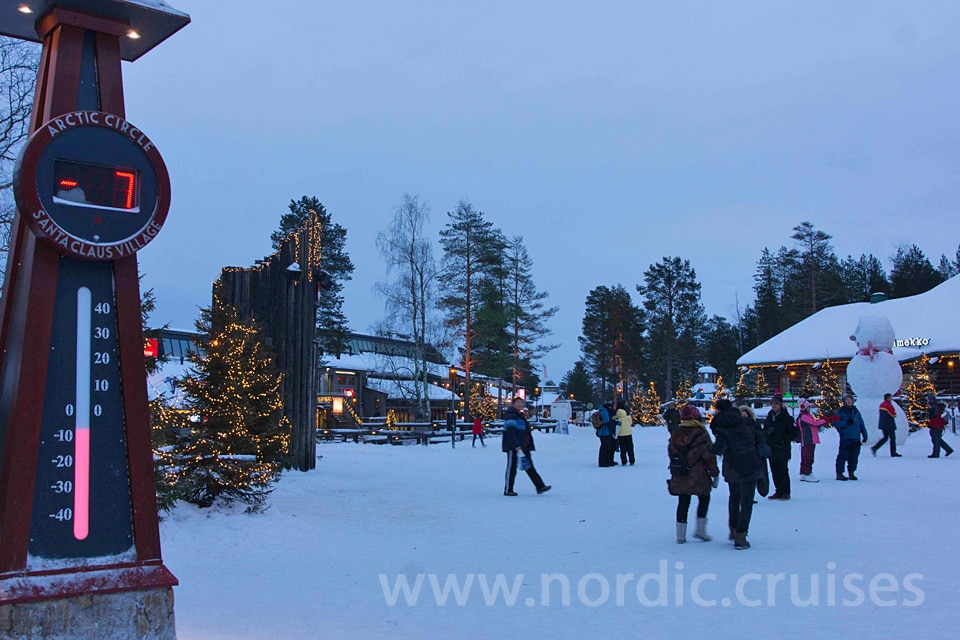 Santa Claus Village, Arctic Circle